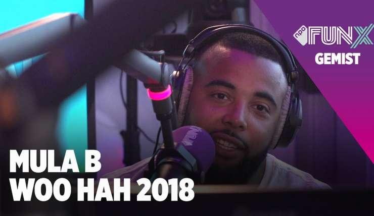[INTERVIEW] Mula B bij WooHah 2018 met FunX